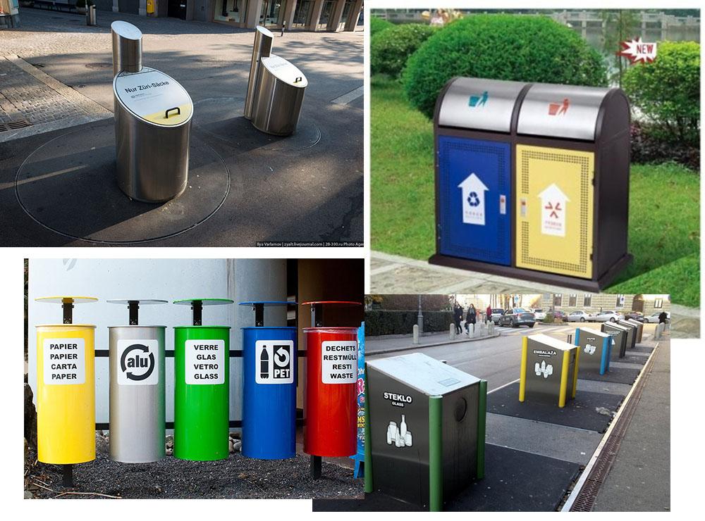 Inox trong Hệ thống xử lý rác thải – thùng rác công cộng – thùng rác y tế