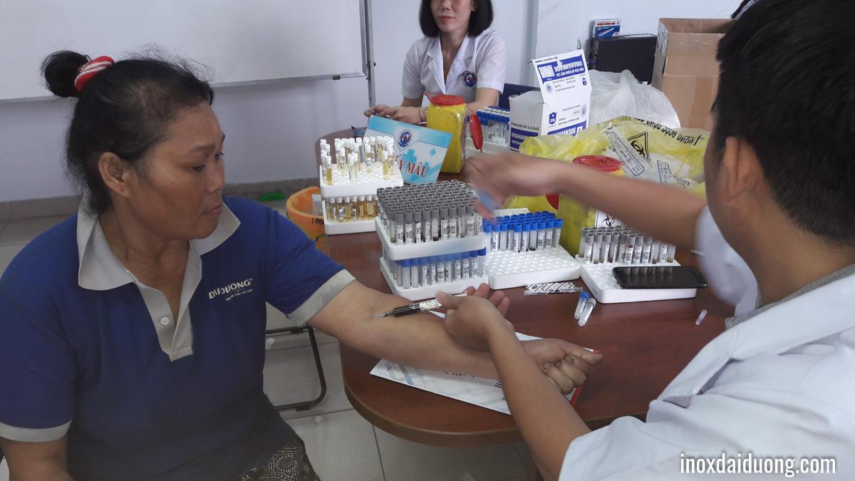 Inox Đại Dươngđã phối hợp với Phòng khám Đa khoa Sài Gòn để tổ chức khám sức khỏe định kỳ cho CB-CNV.