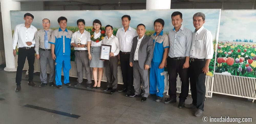 CBCNV Inox Đại Dương tại buổi trao giải