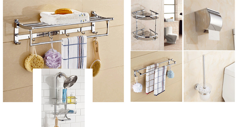 Đồ dùng, vật dụng, phụ kiện nhà tắm bằng inox