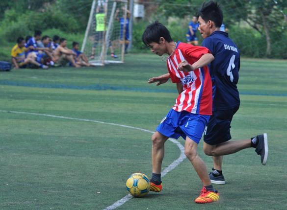 Trận đấu diễn ra với thế trận đánh phủ đầu của đội Kỹ thuật, và nhanh chóng có được 3 bàn thắng sau hơn 10 phút thi đấu. Các cầu thủ lập công lần lượt là Lê Chí Carô, Huỳnh Tấn Đức và Huỳnh Minh Tiết.