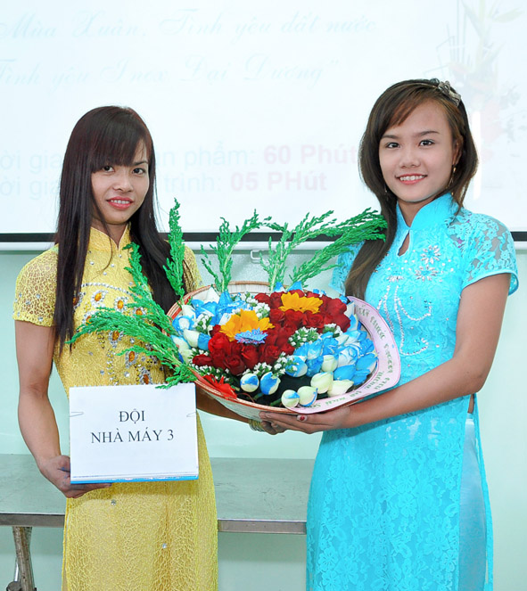 Tác phẩm rất sáng tạo của Đội NMSX 3 đoạt giải Khuyến khích