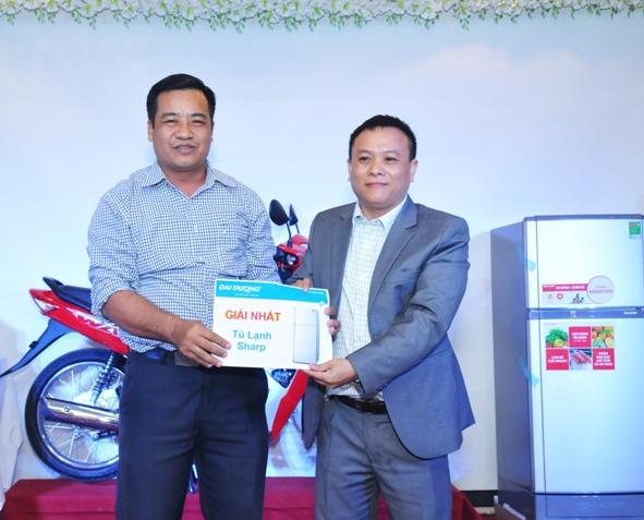 Anh Văn Hưng(Lái xe) – Giải nhất – Tủ lạnh Sharp