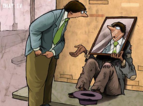Hãy đặt mình vào vị trí của người khác để cảm thông và chia sẻ với khó khăn của họ.