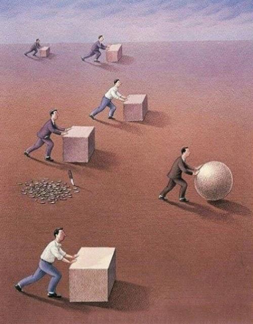 Không cần bảo thủ quy tắc, dám sáng tạo mới có thể đánh bại đối thủ.