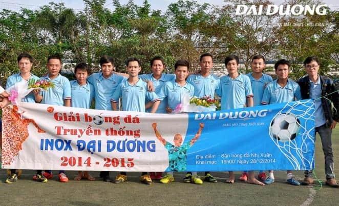 Khai mạc giải Truyền thống Inox Đại Dương 2014-2015