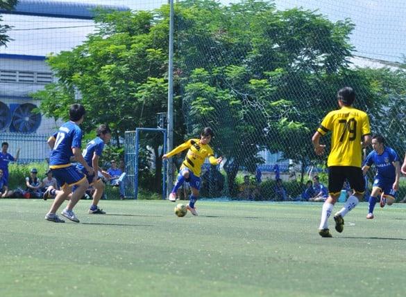 Vòng 1 – Giải bóng đá truyền thống Inox Đại Dương 2015