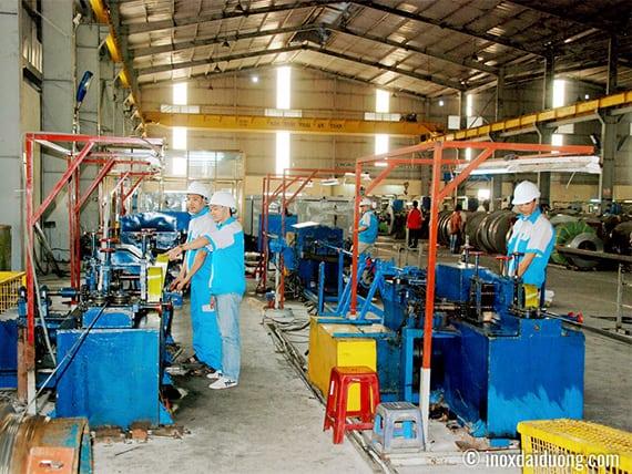 Nhà máy sản xuất Láp / Cây Đặc Inox chất lượng