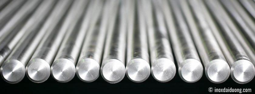 Hình ảnh Inox cây Lap đặc chất liệu 304 và 201 tại nhà máy sản xuất thép không gỉInox Đại Dương