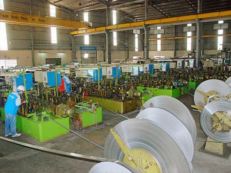 Hình ảnh quá trình sản xuất ống inox tròn trang trí chất liệu inox 304 inox 201 inox 403