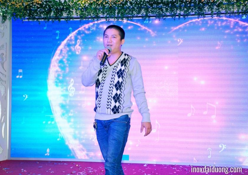 Khép lại chương trình với giọng ca ấm áp của anh Hồ Văn Được từ đơn vị Kho vận
