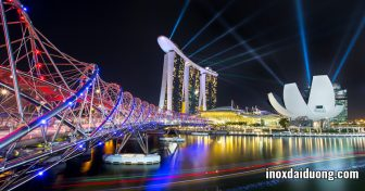 Ngỡ ngàng những công trình nghệ thuật bằng INOX trên thế giới