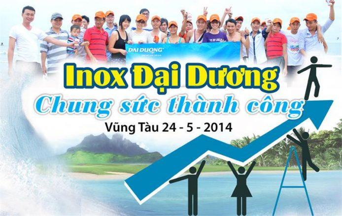 Du lịch Inox Đại Dương 2014: Chung sức thành công