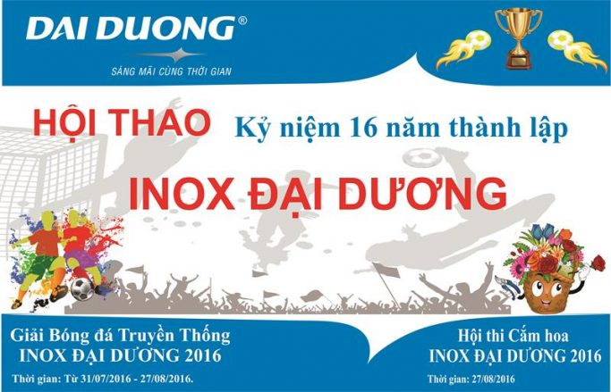 Tưng Bừng Chuẩn Bị Hội Thao Kỷ Niệm 16 Năm Thành Lập Inox Đại Dương