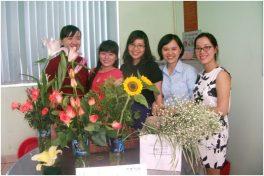 Hội Thi Cắm Hoa Inox Đại Dương 2016