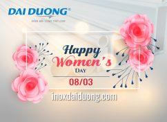 HAPPY WOMEN'S DAY 8/3/2018