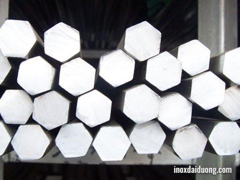 Thanh lục giác inox đặc