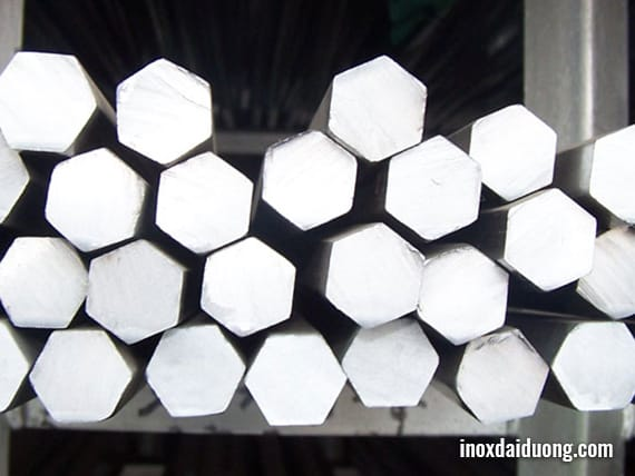 Hexagon stainless steel has grades such as: