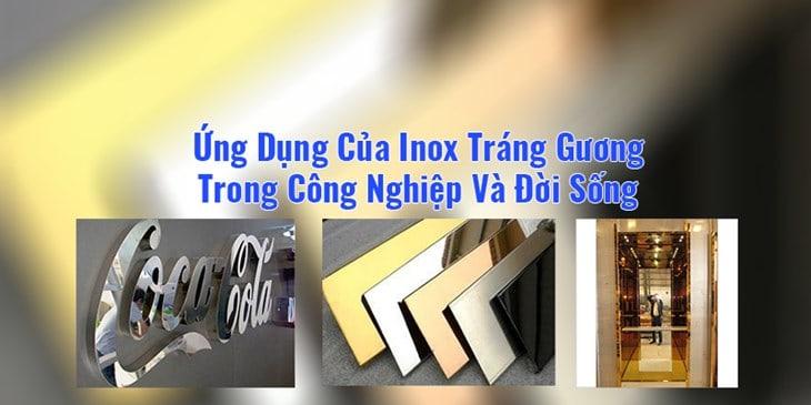 Ứng Dụng Của Inox Tráng Gương Trong Công Nghiệp Và Đời Sống