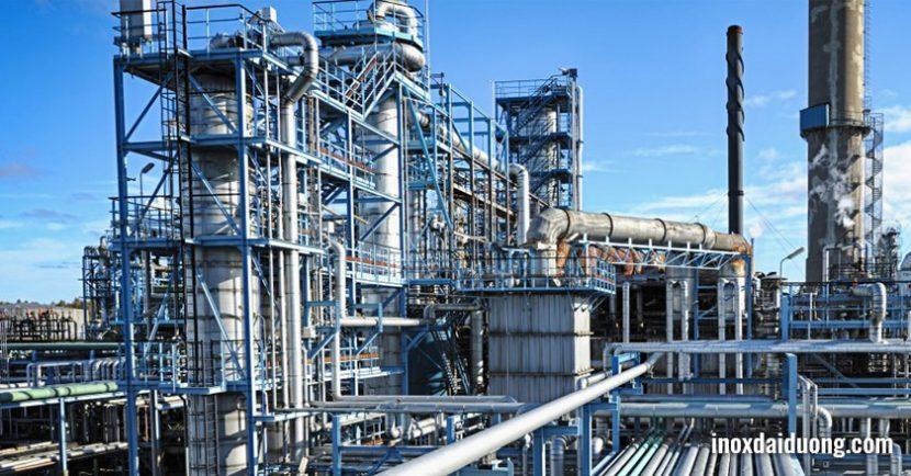 ứng dụng ống inox công nghiệp 304