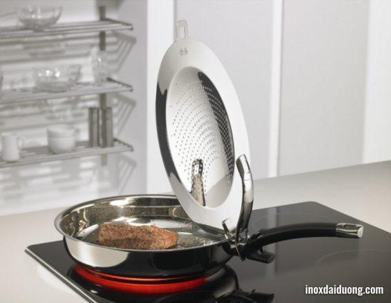 Làm nóng chảo inox với nhiệt độ vừa phải