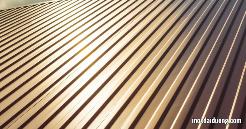 Những lợi ích tuyệt vời của mái nhà inox