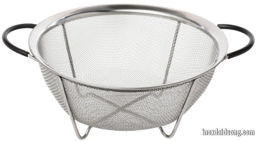 sản phẩm rổ inox được làm từ lưới inox