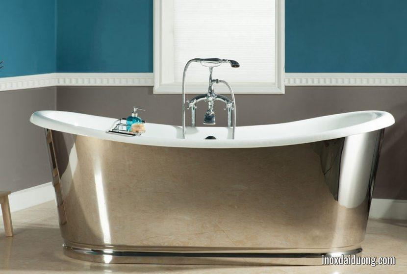 Bồn tắm sứ & inox