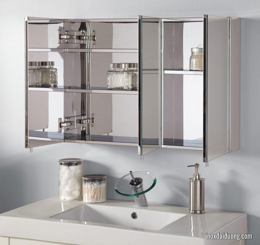 Tủ nhà tắm bằng inox