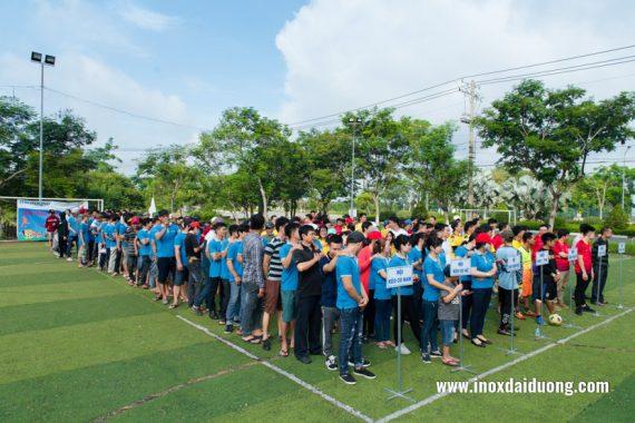lễ khai mạc hội thao inox đại dương 2019