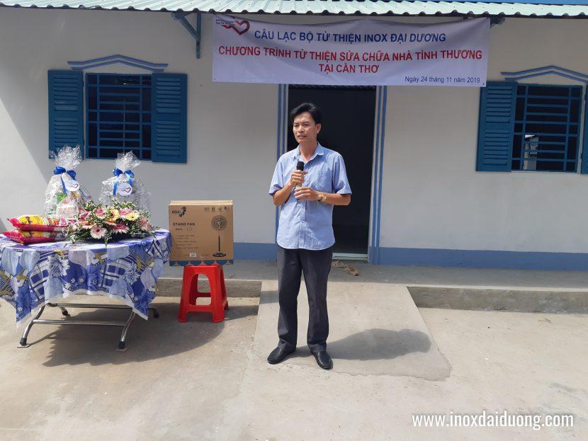 Đại diện chính quyền xã Trường Thắng, Huyện Thới Lai, TP Cần Thơ
