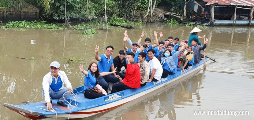 Team CLB Inox Đại Dương - Vòng Tay Yêu Thương rất hào hứng