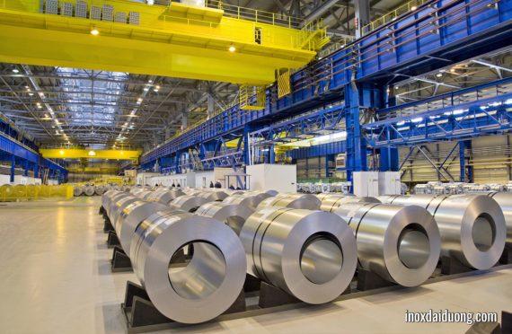 Thép mạ kẽm là vật liệu thép được phủ lên một lớp kẽm mạ