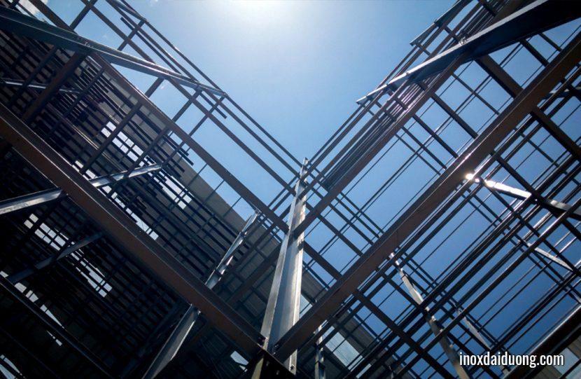 Thép mạ kẽm thường được sử dụng trong các dự án xây dựng