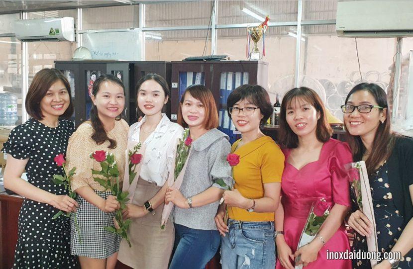 Inox Đại Dương Chúc mừng ngày Quốc Tế Phụ Nữ 8-3-2020
