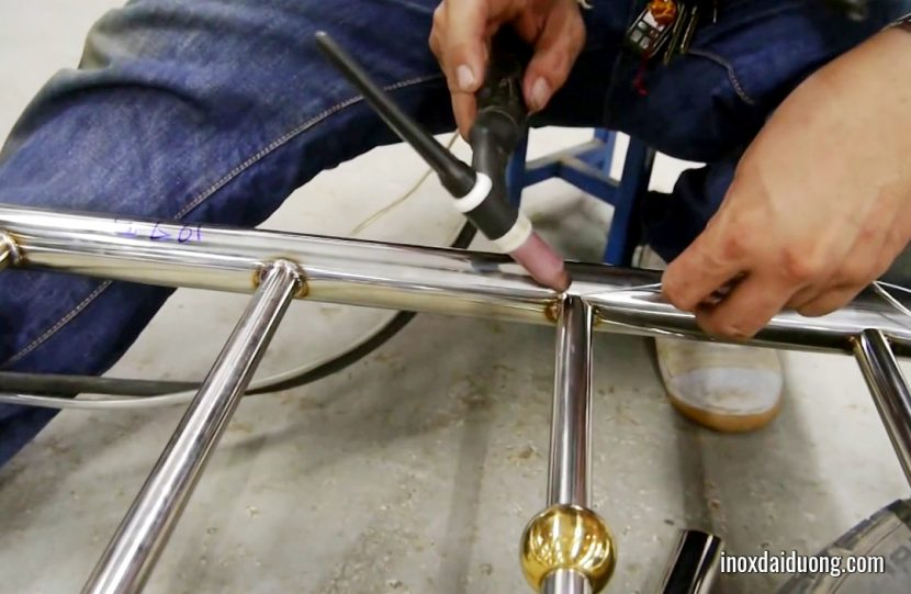 How to weld stainless steel using TIG welding method?