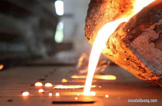 Bất ngờ nhiệt độ nóng chảy của inox, vàng bạc nhôm đồng, sắt thép