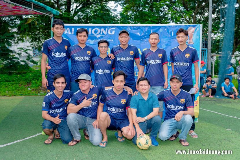 Bóng đá hội thao inox đại dương 11/07/2020