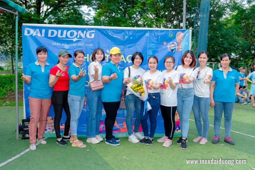 Khai mạc hội thao truyền thống Inox Đại Dương 2020
