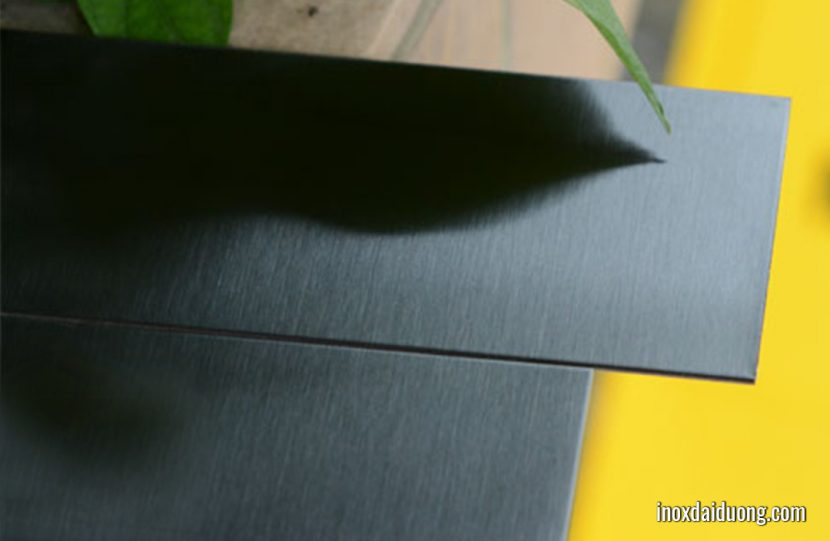 Các loại inox đen phổ biến hiện nay