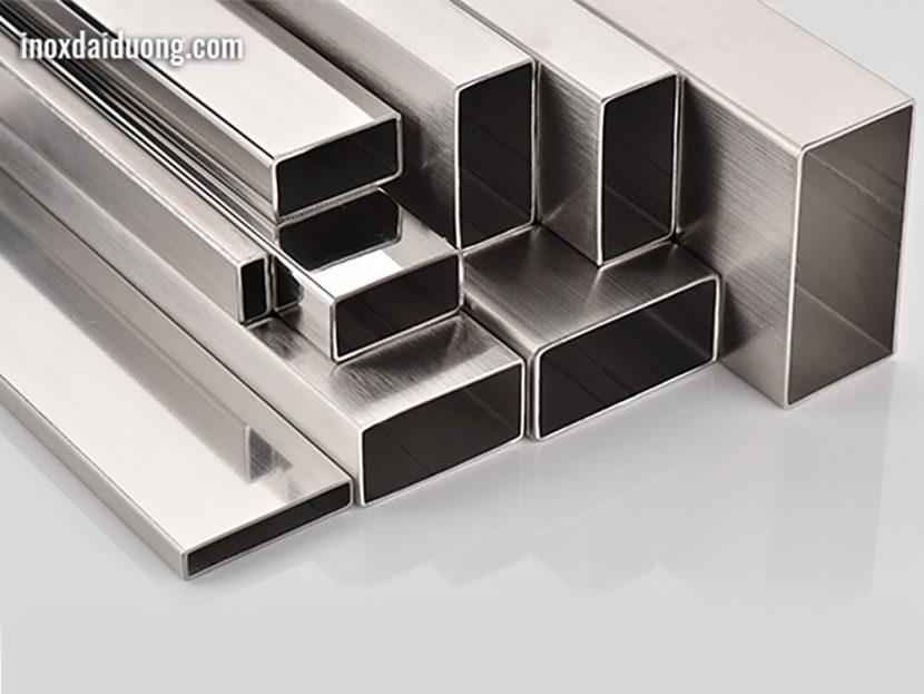 Sản phẩm ống thép không gỉ ống hộp được nhà máy Inox Đại Dương sản xuất
