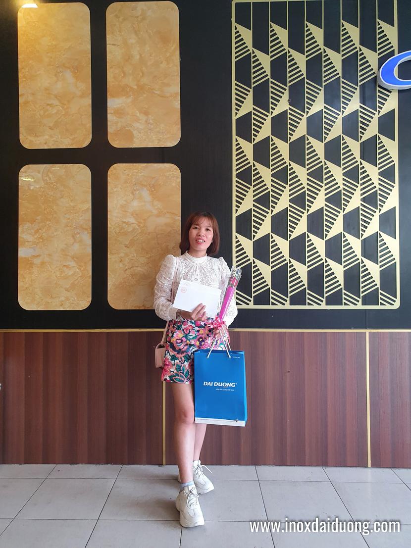 Chúc mừng Quốc Tế Phụ Nữ 8/3/2021 tại Inox Đại Dương
