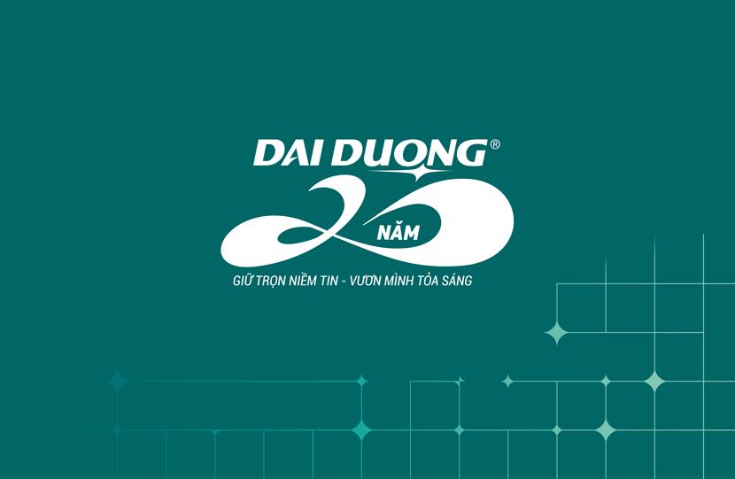 Giới thiệu slogan và màu nhận diện thương hiệu mới của ĐẠI DƯƠNG